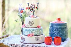 #hochzeitstorte Südamerikanische Boho Inspirationen auf Alpakafarm   Hochzeitsblog The Little Wedding Corner