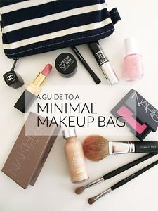 Keep your makeup bag light by sticking to a low key routine and carrying only the essentials. Here's a breakdown of what to include in your collection to keep it minimal. If you like this guide, be sure...