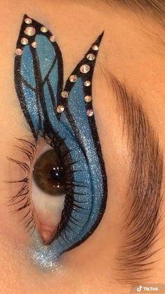 Eye Makeup Designs, Eye Makeup Art, Colorful Eye Makeup, No Eyeliner Makeup, Smokey Eye Makeup, Makeup Tutorial Eyeliner, Makeup Eye Looks, Makeup Looks Tutorial, Makeup Makeover