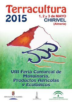 La VIII edición de Terracultura, que se celebra entre el 1 y el 3 de mayo en Chirivel, tiene como principales objetivos dar a conocer las nuevas tecnologías e innovaciones en maquinaria y productos agrícolas y productos ecológicos.  http://losvelezhoy.com/terracultura-celebra-su-viii-edicion-en-chirivel/