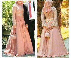 long dress kebaya gamis