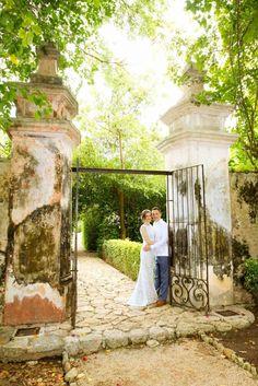 Mayan Wedding | REAL WEDDING: Toni & Damian | Hacienda Itzincab Camara | Photo: Jaime Glez | Yucatán, México.