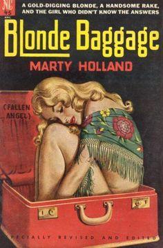 Blonde Baggage #vintage #pulp