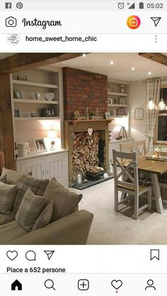 The Best Shabby Chic Furniture Interior Design Ideas Home Living Room, Living Room Decor, Living Spaces, Shabby Chic Furniture, Home Furniture, Furniture Ideas, Cosy Lounge, Rustic Vintage Decor, Country Dining Rooms