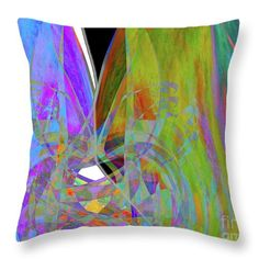 """My Happy Place  Throw Pillow by Expressionistart studio Priscilla Batzell.  Our throw pillows are made from 100% spun polyester poplin fabric and add a stylish statement to any room.  Pillows are available in sizes from 14"""" x 14"""" up to 26"""" x 26"""".  Each pillow is printed on both sides (same image) and includes a concealed zipper and removable insert (if selected) for easy cleaning."""