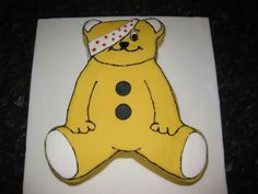 Pudsey Bear Children in Need Cake