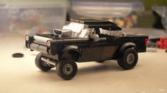 https://flic.kr/p/zE7Xzd | WIP: '55 Chevy Gasser | As inspired and challenged by master Tim. It won't get funky functions as the one Tim has built, but it does get an entire minifig inside.  Opinions and/or critics are obviously welcome.