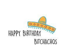 Funny Happy Birthday Card / Best Friend Card by CypressDesignCo