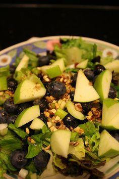 Vermont Maple Blueberry Salad -- Zupas Copycat