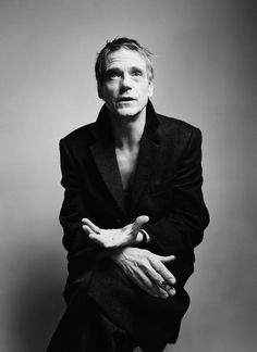 Jeremy Irons by Simon Emmett