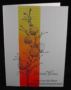 "Penny Black's ""Delicate Florals""       Fairmade: Delicate florals van Penny Black   Product No: 40-103"