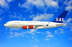 SAS Airbus A380 Scandinavian Airline System