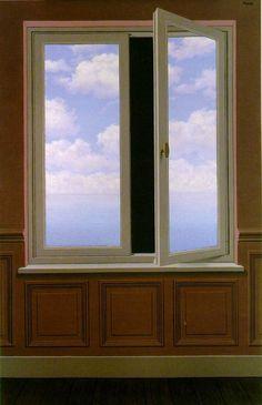 Рене Магритт -  The looking glass  (1963) - Открыть в полный размер