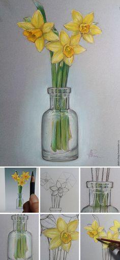 Step-by-step painting tutorial