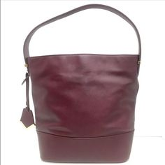 THE LIMITED Maroon Bucket Bag The Limited maroon bucket bag The Limited Bags Hobos