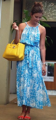 Cute Summer combo-dress from Saju Boutique, bag from Beautiful Laptop bags