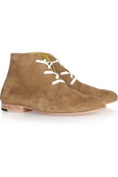 Esquivel  Waris suede lace-up ankle boots