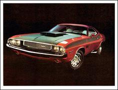 1970 Dodge Challenger 440 Six Pack http://www.musclecardefinition.com/