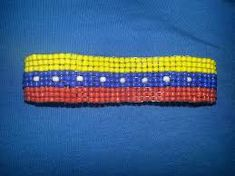 pulseras en mostacilla de venezuela - Buscar con Google Friendship Bracelets, Jewelry, Google, Venezuela Flag, Beading, Appliques, Beads, Art, Jewlery