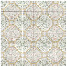 Rustic sage green and yellow patterns on the Tudor Multi Colored are reminiscent of classic European tile. These elegant floral tiles are great for creating a homey feel for any interior installation. You can achieve this beautiful like on sale now until May 22ND. Shop link in bio. #tileaddiction #ihavethisthingwithfloors #ihavethisthingwithtiles #tile #tiles #architecture #interiors #floor #floors #wall #walltiles #floortiles #ceramic #elitetile #elitetilestyle #patternedtiles #pattern…