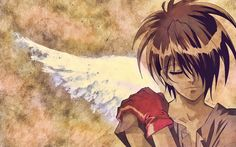Escaflowne - I am a sucker for a dude with wings. XD
