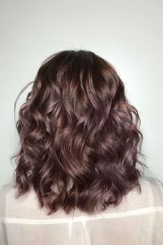 Chocolate Mauve | Booking color appointments ASAP. Changing your hair color can be as subtle as a few highlights or as drastic as a coat of bright purple. We've seen all colors of the rainbow surge in popularity the past few years, but for 2018, hair color is looking much more laid-back. That's not to say that there aren't some popular hair colors that Mama wouldn't gasp over, but the hair color trends for 2018 are less drastic than you might think.