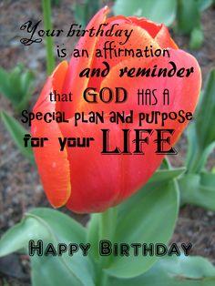 Happy Birthday - Tulip It's Your Birthday, Birthday Wishes, Happy Birthday, Tulip, Are You Happy, Affirmations, How To Plan, Life, Happy Aniversary