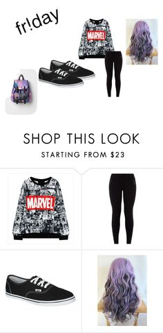 """Fridayyyy"" by dracomalfoycx on Polyvore featuring Vans"
