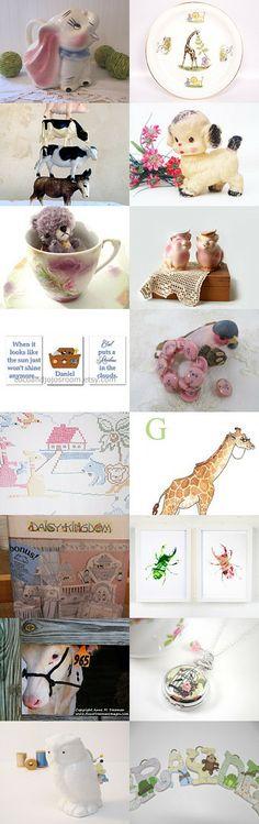 The Nursery Has Gone Wild by Linda Sapp Long on Etsy--Pinned with TreasuryPin.com