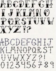 Oldschool Tattoo Font