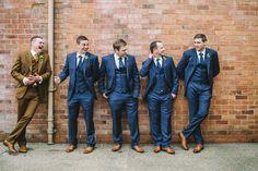 groom with men