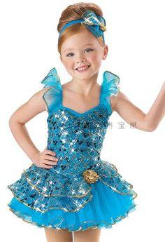 Детский балетный костюм