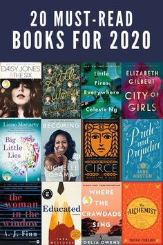 20 Books You Should Read in 2020 - Book Recommendations 2020 - - Are you looking for book recommendations? I'm sharing 20 Books You Should Read in These amazing book picks will inspire you to start 2020 fresh! Top Books To Read, Feel Good Books, Books To Read For Women, Books You Should Read, I Love Books, My Books, Good Book Club Books, Books To Read In Your 20s, Best Books Of All Time