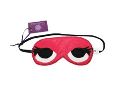 Máscara divertida para soneca, feita em feltro pink, presa confortavelmente por elástico. Para deixar suas horas de sono mais prazerosas! (medida aproximada do elástico: 35cm) R$ 13,90