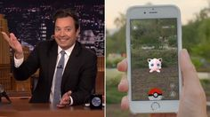 Probably just like you, Jimmy Fallon has been sucked into the addicting world of Pokémon Go. But he warns against using the lure to attract Pokémon to you.