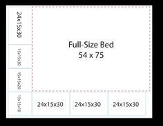 Line Chart, Bar Chart, Bed Measurements, Bar Graphs