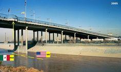 Confini amministrativi - Riigipiirid - Political borders - 国境 - 边界: 2005 MX-US Mehhiko-Ameerika Ühendriigid Messico-St...