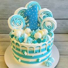 Frozen Birthday Cake, Baby Birthday Cakes, Birthday Parties, Ocean Cakes, Snowman Cake, Christmas Cake Pops, Candy Cakes, Colorful Cakes, Holiday Cakes