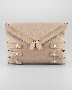 Diane Chain Clutch Bag, Gray by Danielle Nicole at Neiman Marcus.