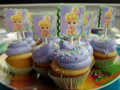 tinkerbell cupcakes - Buscar con Google