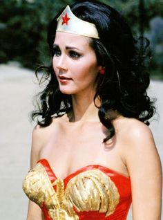 Lynda Carter, Wonder Woman.