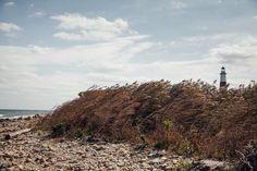Lighthouse view from beach at camp hero in Montauk - Matt Stallone Photography