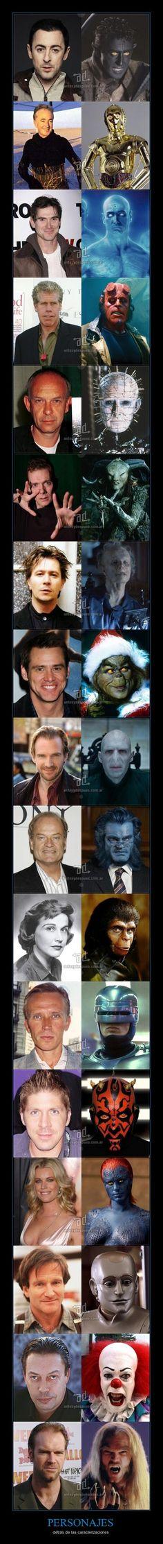 Celebrities in character