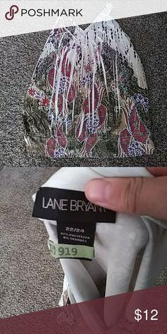 Lane Bryant Top Good condition. Size 22/24 Lane Bryant Tops Tank Tops