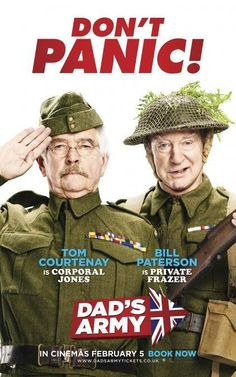 Tom Courtenay and Bill Paterson in Dad's Army (2016)