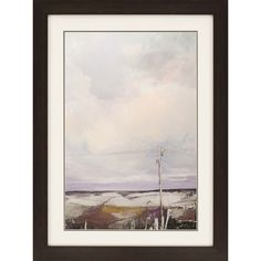 Roadside View Framed Painting Print