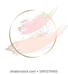 Find Nude Rose Brush Strokes Gold Round stock images in HD and millions of other royalty-free stock photos, illustrations and vectors in the Shutterstock collection. Bakery Business Cards, Business Logo, Branding Design, Logo Design, Graphic Design, Sparkles Background, Blank Background, Cake Logo, Pretty Backgrounds