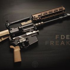 """Pulled this freak apart to #rattlecan the @crossmachinetool set. I used @rustoleumusa Camo Earth Brown. I like it much better than the lighter color I had before. Really makes the @geissele DDC pop!  Running some quality parts on this #fiftyshadesoffde build: @vg6precision Gamma + Cage @aimsurplus LW BCG @christensenarms x @trigger.tech Drop-in 3.5lb Trigger @ballisticadvantage 10.3""""  #primerprojects #poovibes #fiftyshadesoffde #fdefriday"""