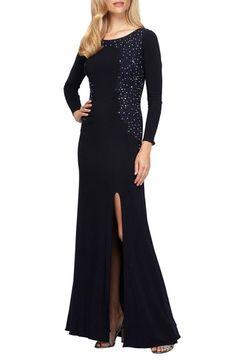 Alex Evenings Embellished Gown available at #Nordstrom