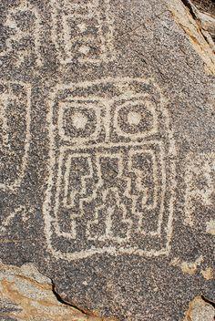 Petroglifo (detalle) sector Zapallar Museums, Creativity